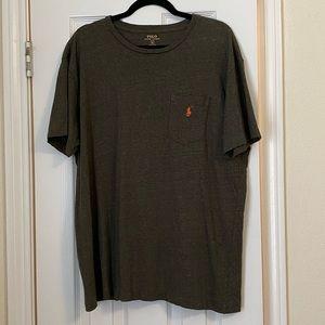 Front Pocket Men's Polo Shirt